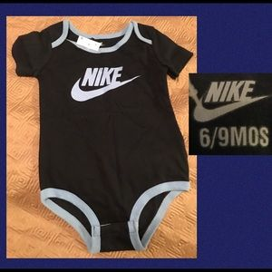 Dark Blue Nike Short Sleeves BodySuit
